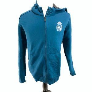 Adidas Real Madrid Anthem Squad Mens Hoodie Jacket